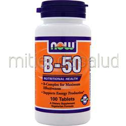 B-50 Complex 100 tabs NOW
