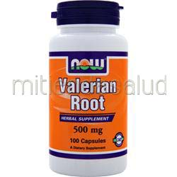 Valerian Root 500mg 100 caps NOW