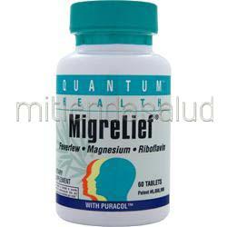 MigreLief 60 tabs QUANTUM