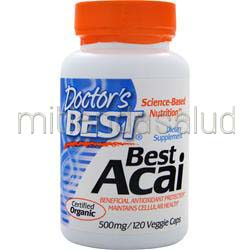 Best Acai 500mg 120 vcaps DOCTOR'S BEST