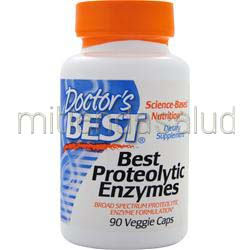 Best Proteolytic Enzymes 90 caps DOCTOR'S BEST
