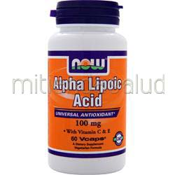 Alpha Lipoic Acid 100mg 60 caps NOW