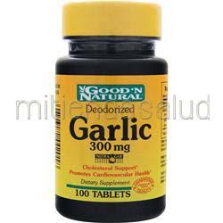 Garlic 300mg 100 tabs GOOD 'N NATURAL