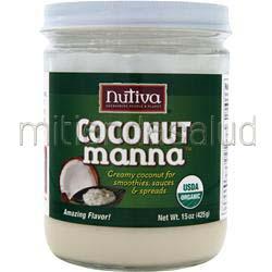 Coconut Manna 15 oz NUTIVA