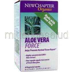 Aloe Vera Force 60 caps NEW CHAPTER