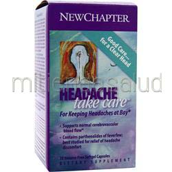 Headache Take Care 30 sgels NEW CHAPTER