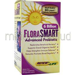 FloraSMART - 6 Billion 90 caps RENEW LIFE