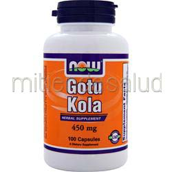 Gotu Kola 450mg 100 caps NOW