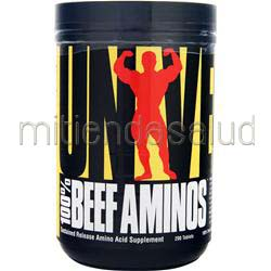 100% Beef Aminos 200 tabs UNIVERSAL NUTRITION