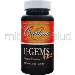 E-Gems Elite 400IU 60 sgels CARLSON