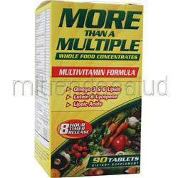 More Than A Multiple - Multivitamin Formula 90 tabs AMERICAN HEALTH