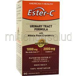 Ester-C Urinary Tract Formula 90 tabs AMERICAN HEALTH
