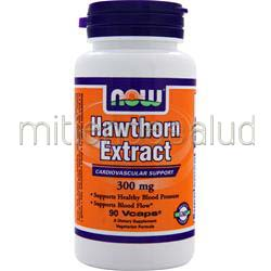 Hawthorn Extract 300mg 90 caps NOW