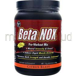 Beta NOX - Pre-Workout Mix Citrus Blast 680 gr IDS