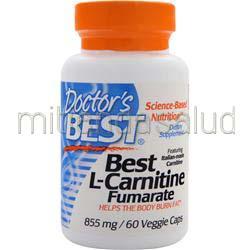 Best L-Carnitine Fumarate 885mg 60 caps DOCTOR'S BEST