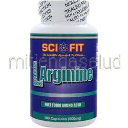 L-Arginine 500mg 100 caps SCI-FIT