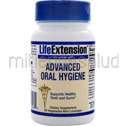 Advanced Oral Hygiene Mint 60 lzngs LIFE EXTENSION