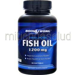100% Pure Fish Oil 1200mg 90 sgels BODYSTRONG