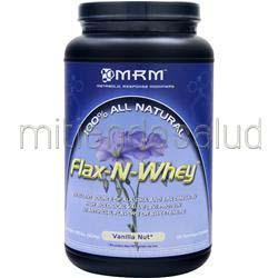 100% All Natural Flax-N-Whey Vanilla Nut 1 99 lbs MRM
