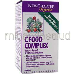 C Food Complex 30 tabs NEW CHAPTER