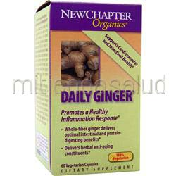 Daily Ginger 60 caps NEW CHAPTER