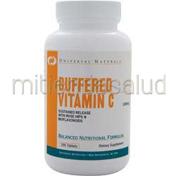 Buffered Vitamin C 1000mg 100 tabs UNIVERSAL NUTRITION