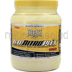 Everlast N O  NitroPlex Powder Fruit Punch 1 93 lbs EVERNUTRITION