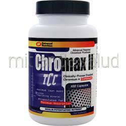 Chromax II 100 caps UNIVERSAL NUTRITION