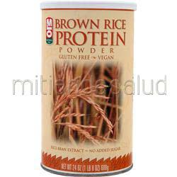Brown Rice Protein powder 24 oz MLO