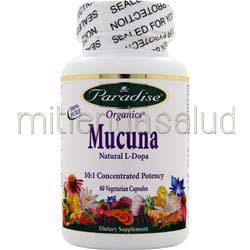Mucana - Natural L-Dopa 60 caps PARADISE HERBS