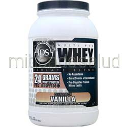 Multi-Pro Whey Isolate Blend Vanilla Cinnamon 2 lbs IDS