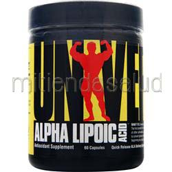 Alpha Lipoic Acid 100mg 60 caps UNIVERSAL NUTRITION