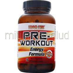 Pre-Workout Energy Formula 90 caps IRON-TEK