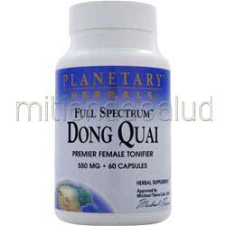 Full Spectrum Dong Quai 60 caps PLANETARY FORMULAS