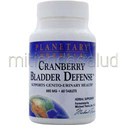 Cranberry Bladder Defense 60 tabs PLANETARY FORMULAS