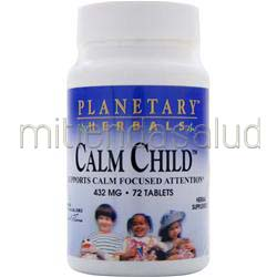Calm Child 72 tabs PLANETARY FORMULAS