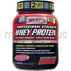 Professional Strength Whey Protein Strawberry Cream Smoothie 2 lbs SIX STAR PRO NUTRITION