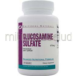Glucosamine Sulfate 675mg 50 caps UNIVERSAL NUTRITION
