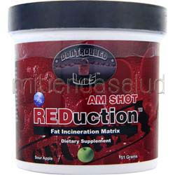 REDuction AM Shot Sour Apple 51 gr CONTROLLED LABS