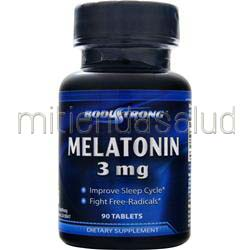 Melatonin 3mg 90 tabs BODYSTRONG