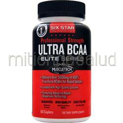 Professional Strength Ultra BCAA Elite Series 60 cplts SIX STAR PRO NUTRITION