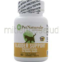 Bladder Support For Cats 60 tabs PET NATURALS OF VERMONT