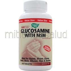 Glucosamine with MSM Flexmax 160 tabs NATURE'S WAY