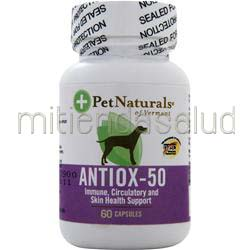 Antiox-50 For Dogs 60 caps PET NATURALS OF VERMONT