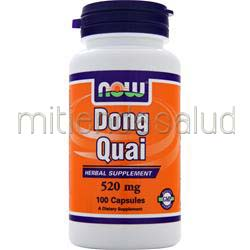 Dong Quai 520mg 100 caps NOW