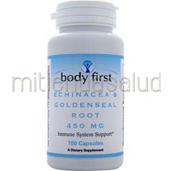 Echinacea & Goldenseal Root 450mg 100 caps BODY FIRST