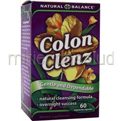 Colon Clenz 60 caps NATURAL BALANCE
