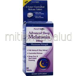 Melatonin 10mg Maximum Strength 60 tabs NATROL