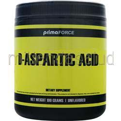 D-Aspartic Acid Unflavored 100 gr PRIMAFORCE