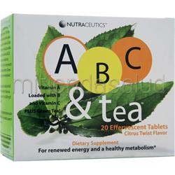 ABC & Tea 20 tabs NUTRACEUTICS
